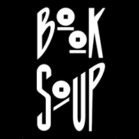 Image of black & white Book Soup logo