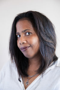 Headshot of author Lynell George by Noé Montes