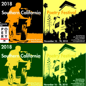 Featured Event: Southern California Poetry Festival